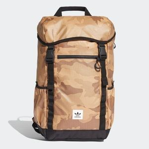 Adidas Street Toploader Backpack Desert Camo New